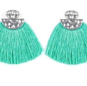 Fringe Post Earrings